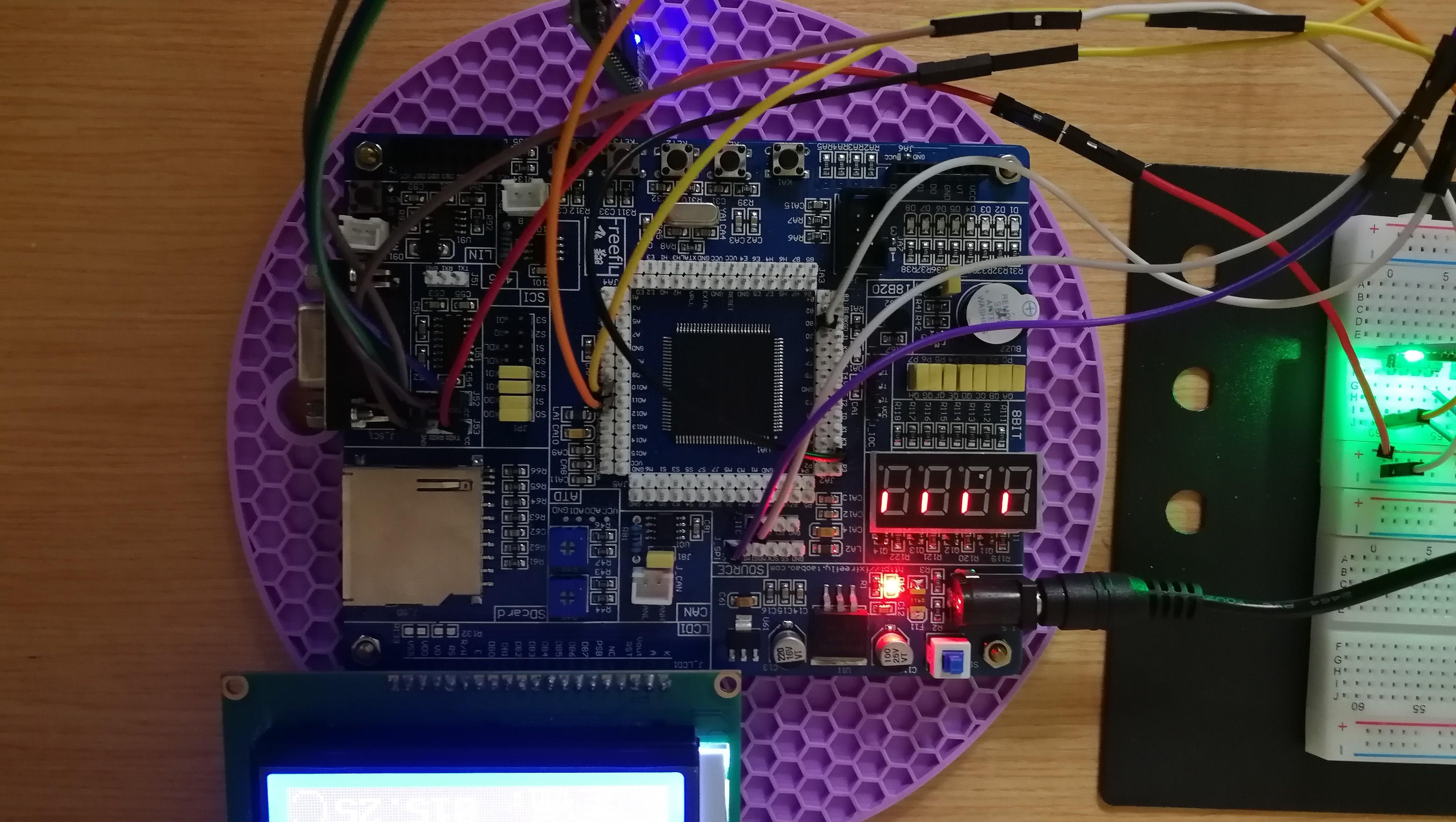 智能避雨感光窗户系统模型设计——基于飞思卡尔MC9S12XS128